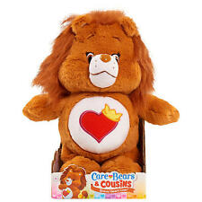 """Care Bears Cousins BRAVE HEART LION With DVD 14"""" Soft Plush Toy New in Box"""