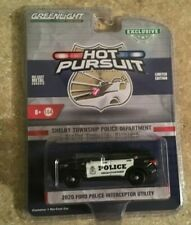 Greenlight Hot Pursuit 2020 Ford Interceptor Utility Shelby Township