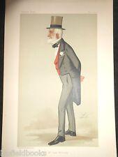 M. James WEATHERBY 17/5/1890, Turf passionné, Horse Racing-Lib Vanity Fair Print