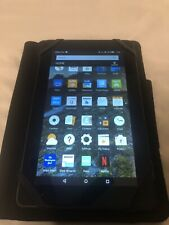 """Amazon Kindle Fire 7"""" (5th Gen) Touchscreen 8 GB Tablet SV98LN - Great Condition"""