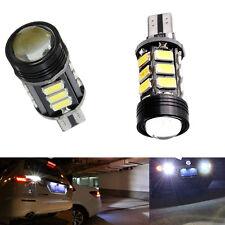 2*Xenon No Error Canbus T15 W16W 5630 COB 15-LED Backup Reverse White Light Bulb
