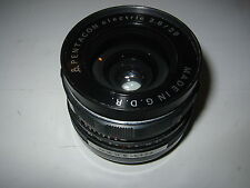 M42 SCREW FIT 29MM F2.8 PENTACON WIDE ANGLE LENS FILM/DIGITAL