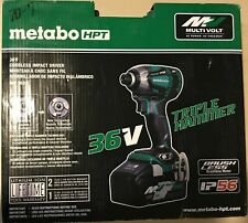 Metabo-HPT-MultiVolt-36-Volt-1-4-in-Variable-Speed-Cordless-Impact-Driver-New