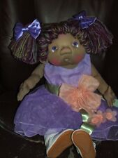"Paty Ollaif Soft Sculpture One of a Kind Artist Doll ""Genevieve"""