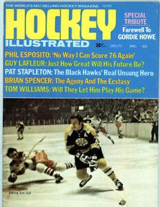 1  -  8 1 1/2 x 11 Hockey Illustrated Dec 1971  full mag  Nice centerfold