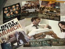 Munich 5 Oscar ads with cast, Steven Spielberg, Eric Bana, Daniel Craig