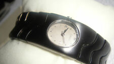 TIMEX Watch Black Bracelet Band RARE