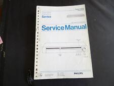 Original Service Manual Philips F 2131