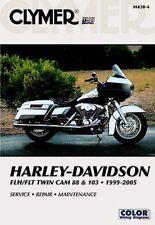 Harley Davidson Electra Glide Road King FLH FLT 1999-2005 Clymer Manual M430-4