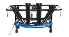 Jet Ski Fishing Rack 4-X Rod Holders with Gas Plates - Universal