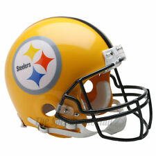 PITTSBURGH STEELERS 75TH THROWBACK NFL AUTHENTIC FOOTBALL HELMET
