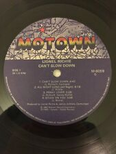 Lionel Richie, Can't Slow Down, Vinyl Record Album LP