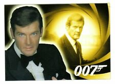 JAMES BOND - H&V  - ROGER MOORE AS JAMES BOND HOLOGRAM CARD - B2