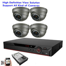 4Ch All-in-1 6Mp Dvr 1080P 4-in-1 Ahd 2.6Mp Osd 36Ir Security Camera System 1