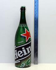 "Large Heineken Bottle appx 19"" Tall!  Man Cave Bar  Tavern Pub EMPTY"