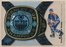 2011-12 Black Diamond Championship Rings Glenn Anderson 86-87 Edmonton Oilers