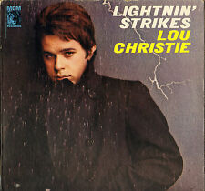 "LOU CHRISTIE ""LIGHTNIN' STRIKES"" 60'S POP ROCK LP MGM 4360"