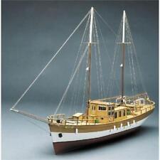 Mantua Models Trotamares Motor Schooner Model Boat Kit FREE NEXT DAY Delivery