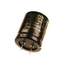 MUNDORF CONDENSATORI Elko 4700uf 63v 125 ° C mlytic ® AG audio Grade 852957
