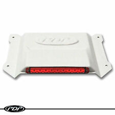 2005+ SKI-DOO REV L.E.D Snowmobile Brake Light _ White Housing Red Lense