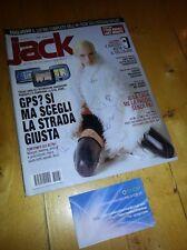 RARA RIVISTA JACK N° 64 ANNO 2006 -PRIMA STAMPA-GPS TOMTOM...-RIVISTA UFFICIALE!
