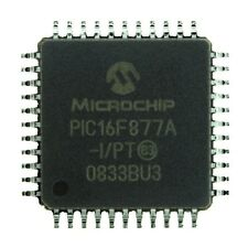 3pcs PIC16F877A TQFP44 8-Bit Microcontroller PIC 14k Flash PIC16F877A-I/PT New
