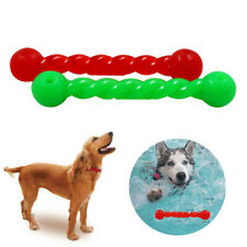 Pet Dog Interactive Rubber Rod Safe Floating Puppy Teeth Chew Training Toy Gift