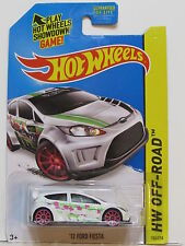HOT WHEELS 2014 TREASURE HUNT - ROAD RALLY '12 FORD FIESTA TAMPOO ERROR