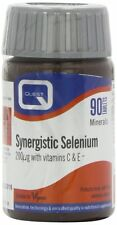 Quest Synergistic Selenium 200ug with Vit. C & E 90 Tab