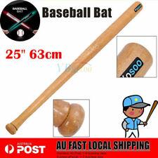 "AU Ship Wood 25"" 63cm Wooden Baseball Bat Racket Softball Outdoor Sport Exercise"