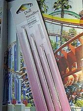 Hemline 3 Quality Doll Bear Upholstery Hand Sewing Needles 89 mm 130 mm 178 mm