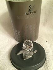 Mint Swarovski SNAIL on VINE LEAF Crystal Figurine - 7615 NR 000 005