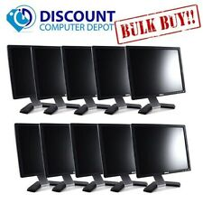 "LOT of 10 -- Dell UltraSharp 17"" Monitor Desktop Computer PC LCD (Grade B)"