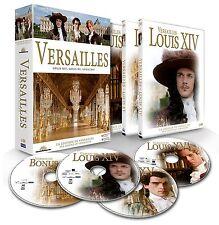 Versailles LOUIS XIV, LOUIS XV, LOUIS XVI + BONUS - Coffret 4 DVD - NEUF - VF