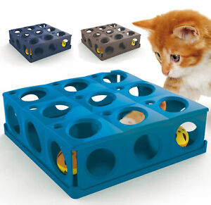 Cat Toy Catch The Ball Interactive Fun Play Kitty Activity 3 Colours CatCentre®
