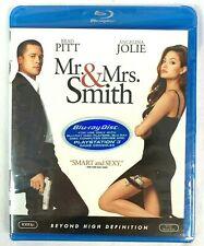 Mr. and Mrs. Smith Blu Ray Disc DVD 1080P Angelina Jolie