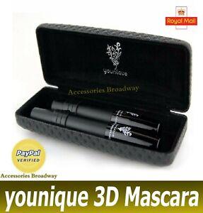 NEW Younnique 3D Moodstruck Fiber Fibre Lash Mascara Black Sealed with Box