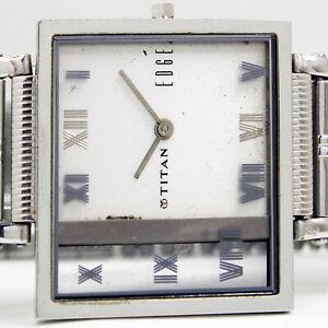 Titan Edge Quartz Slim Case Unisex Wrist Watch
