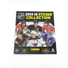 2015-16 Panini Hockey NHL Sticker Album 72 Page +10 Stickers Inside