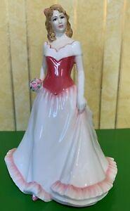 ROYAL DOULTON LADY DOLL ALICE MODEL HN 4111 PINK DRESS PERFECT
