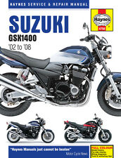 Suzuki GSX1400 1400 2002 - 2008 Haynes Manual 4758 NEW