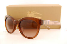 9ea32e3354bb Brand New Burberry Sunglasses BE 4210 3564 13 Brown Gradient Brown For Women