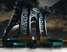 Poster géant papier peint dessous du pont brooklyn de 4m/2m80 de hauteur