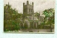 Chester Cathedral From North East Kingsway RPPC Real Photo Postcard Unposted FI