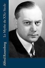 Le Mythe Du Xxe Siecle by Alfred Rosenberg (French) Paperback Book Free Shipping