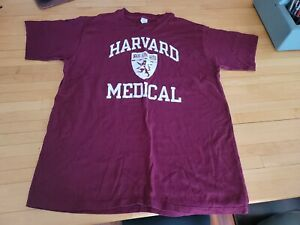 Vintage Champion harvard medical school  tee shirt xxl USA never worn