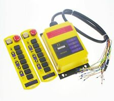 2 Speed 2 transmitter Control Hoist Crane Radio Remote Control System Controller