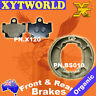 FRONT REAR Brake Pads Shoes for Yamaha RD 125 LC 1982-1984