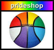 Rainbow REGULATION Pride Colour Basketball Team Sport Equipment Lesbian Gay #823