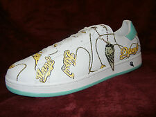 Reebok Ice Cream 1 of 1 #Cool Mint Name Chain Sneakers SIZE 10 pharrell BBC DS